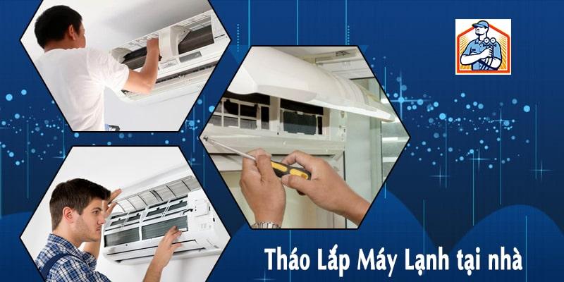 Tháo Lắp Máy Lạnh tại nhà – Điện lạnh Quỳnh Anh