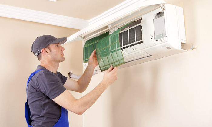 Thi công + lắp đặt máy lạnh